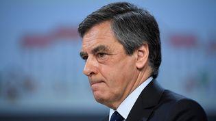 François Fillon, en février 2017 à Paris (LIONEL BONAVENTURE / AFP)