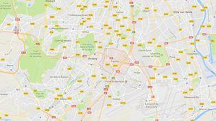 La ville de Fresnes, dans le Val-de-Marne. (CAPTURE D')