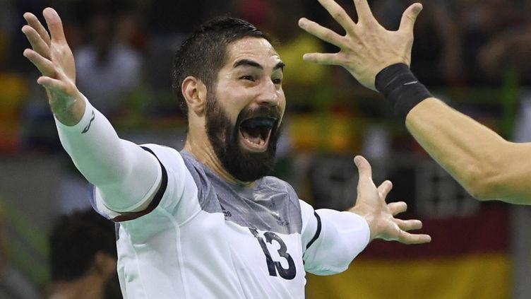Le handballeur français Nikola Karabatic, le 19 août 2016 à Rio. (MAXPPP)