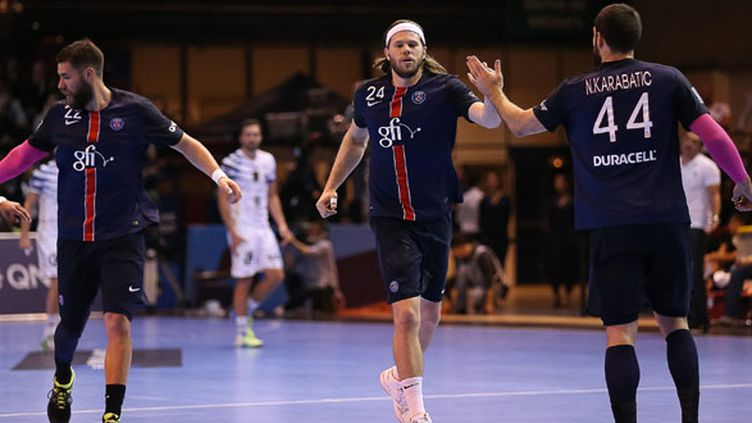 Nikola Karabatic et Mikkel Hansen, les joueurs du PSG