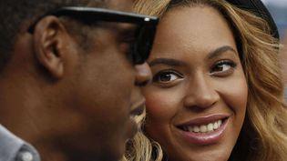 Le couple Jay-Z/Beyoncé n'est pas mal lotie par la formule magique censée prédire la durée des mariages people. (CHARLES KRUPA / AP / SIPA)