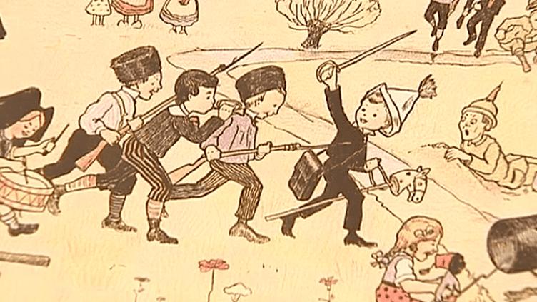 La guerre racontée aux enfants à Issoudun (Indre)  (France 3)