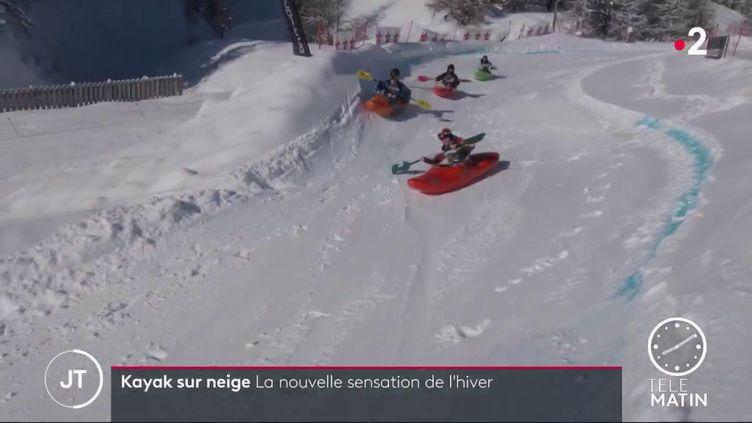 Du kayak sur neige (FRANCE 2)