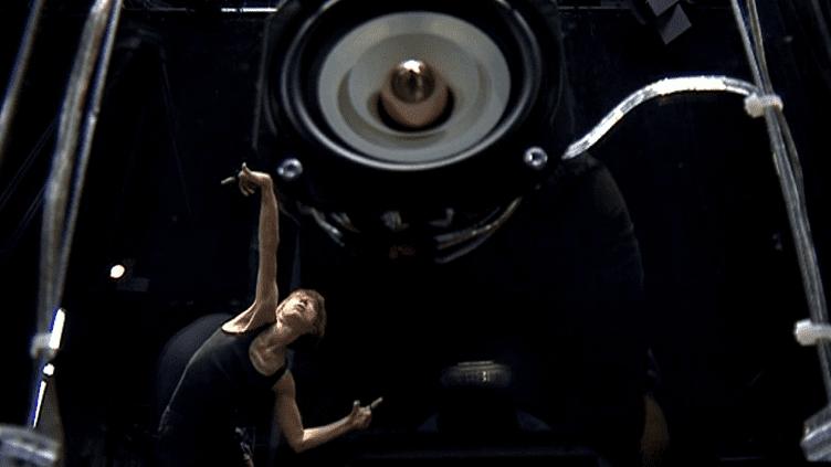 """La danseuse et chorégraphe Aurore Gruel collabore avec Hervé Birolini sur """"Speakers""""  (Culturebox / Capture d'écran)"""