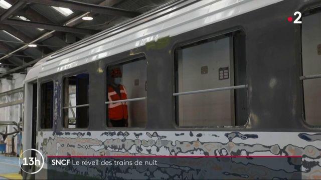 Transports : la SNCF remet ses trains de nuit au goût du jour