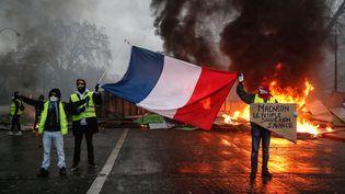 Des manifestants à Paris, le 1er décembre 2018. (ABDULMONAM EASSA / AFP)
