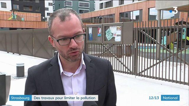 Strasbourg : une école maternelle construite dos à la route pour éviter la pollution