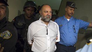 Le Français Christophe Naudin, lors de son arrivée à Saint-Domingue (République dominicaine), le 8 mars 2016. (ERIKA SANTELICES / AFP)
