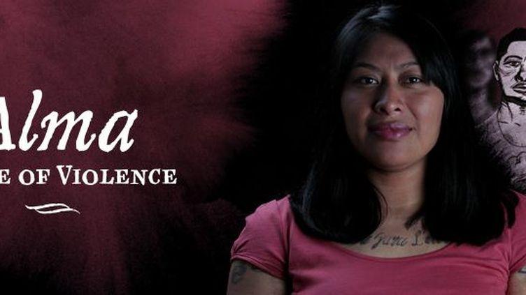 """Une capture d'écran de la page d'accueil du webdoc """"Alma, une enfant de la violence"""", primé par le jury du World Press le 1er février 2013. (CAPTURE FRANCETV INFO)"""