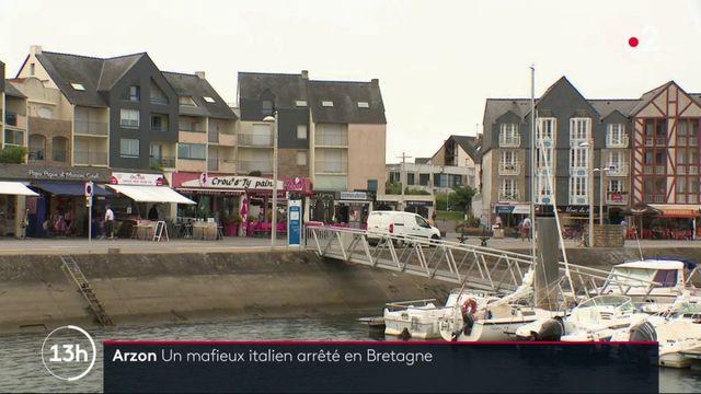 Arzon : un mafieux italien arrêté en Bretagne