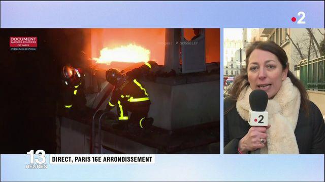 Incendie meurtrier à Paris: un quartier en état de choc
