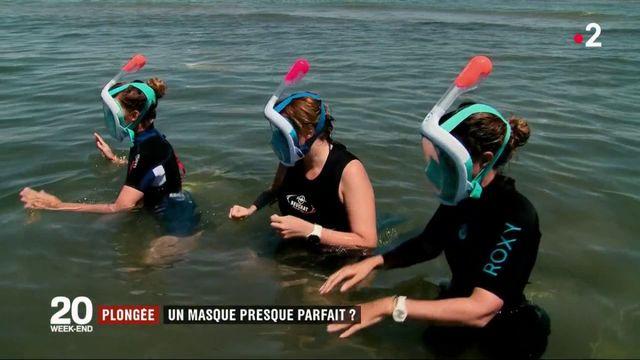 Plongée : un masque intégral pour mettre la tête sous l'eau