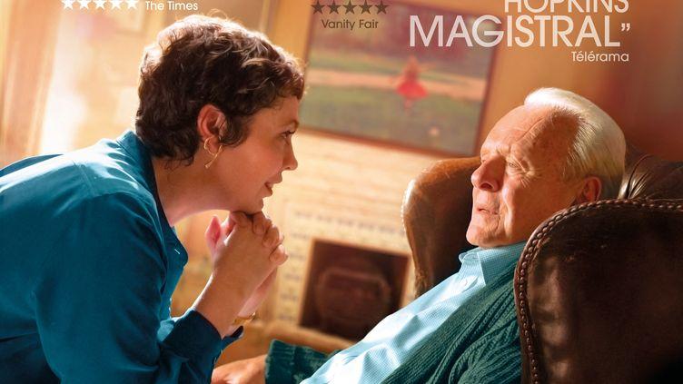"""""""The Father"""" de Florian Zeller d'après la pièce de Florian Zeller. Enfin en salles après deux Oscars, meilleure adapation et meilleur acteur. (TRADEMARK FILMS - CINE@ - F COMM / COLLECTION CHRISTOPHEL VIA AFP)"""