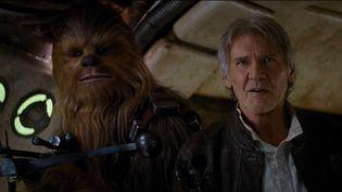 C'est le retour Han Solo (Harrison Ford) et de Chewbacca ! (THE WALT DISNEY COMPANY)