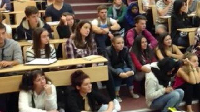 Les universités françaises sont surchargées