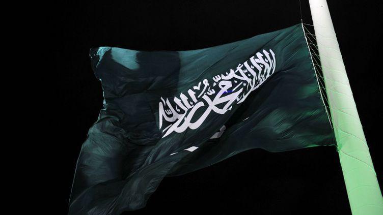 Un drapeau de l'Arabie Saoudite, le 23 septembre 2014. (STR / AFP)