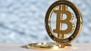 Le bitcoin fête ses dix ans (illustration). (JEAN-LUC FLEMAL / MAXPPP)