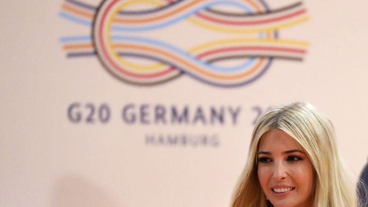 Ivanka Trump au sommet du G20 à Hambourg (Allemagne), le 8 juillet 2017. (AFP)