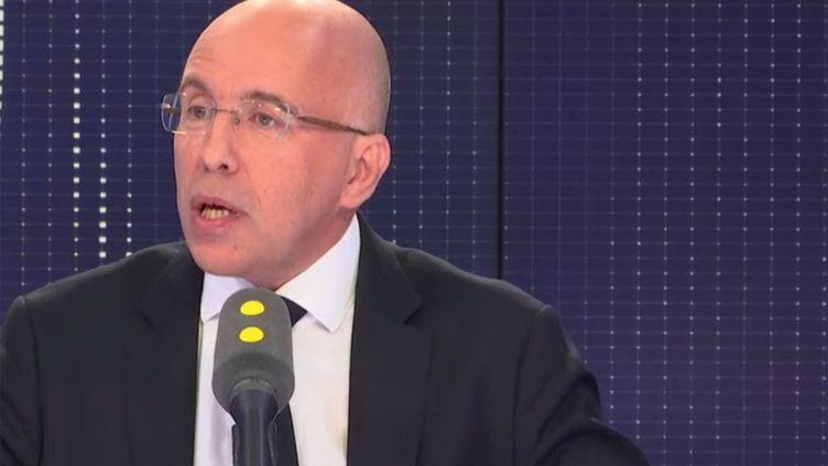 Eric Ciotti, député Les Républicains des Alpes-Maritimes, invité de franceinfo le 6 novembre 2018. (RADIO FRANCE / FRANCE INFO)