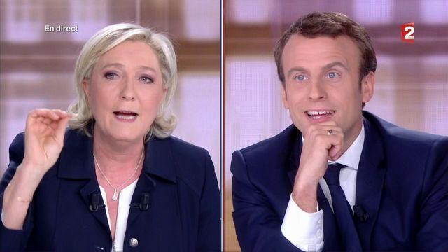 """Présidentielle : """"Ne jouez pas au professeur avec moi"""", lance Le Pen à Macron"""