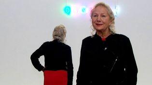 Agnès b. présente sa collection d'art contemporain au LaM de Villeneuve d'Ascq  (France 3 / Culturebox)