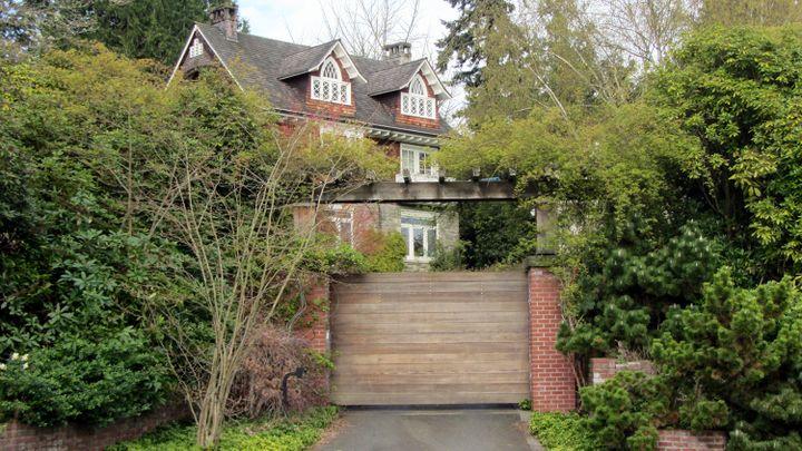 La villa de Seattle où Kurt Cobain s'est suicidé en 1994  (MICHAEL THURSTON / AFP)