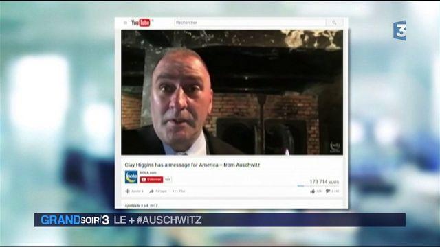 Auschwitz : un élu américain crée la polémique en se filmant dans une chambre à gaz