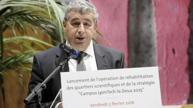 Khaled Bouabdallah, le vice-président de la Conférence des présidents d'université à Lyon (Rhône), le 5 février 2016. (JOEL PHILIPPON / MAXPPP)