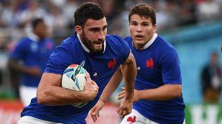 Le tirage au sort de la Coupe du monde de rugby a lieu lundi 14 décembre à Paris. (FRANCK FIFE / AFP)