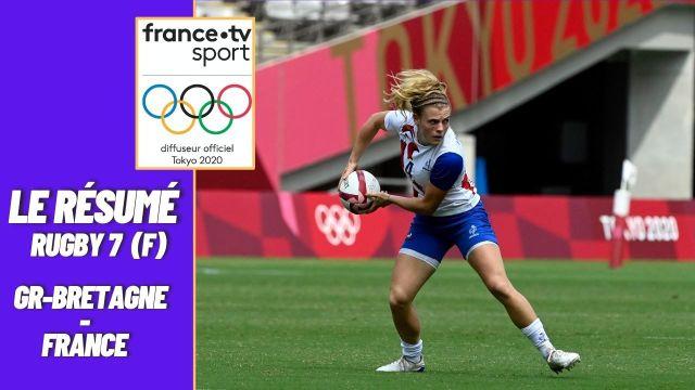 L'équipe de France de rugby à 7 féminine se qualifie pour la finale du tournoi olympique en battant la Grande-Bretagne 26-19. Elles s'assurent leur première médaille olympique et joueront la Nouvelle-Zélande en finale.