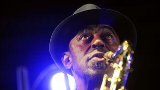 L'Américain Archie Shepp sera pour la première fois cet été à Jazz à Marciac  (ERIC CABANIS / AFP)
