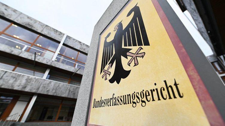 La Cour constitutionnelle allemande, àKarlsruhe, en février 2020. (ULI DECK / DPA)
