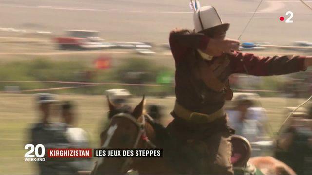 Kirghizistan : les jeux des steppes