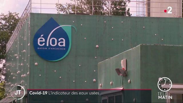 Coronavirus: l'indicateur des eaux usées en Nouvelle-Aquitaine