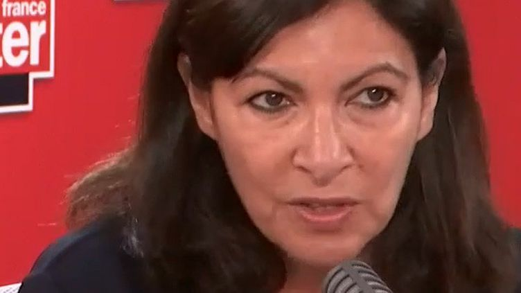 Anne Hidalgo, le 4 juin 2020. (FRANCE INTER / RADIO FRANCE)