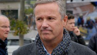 Nicolas Dupont-Aignan,député de l'Essonne et président de Debout La France, à Paris, le 5 octobre 2014. (PATRICE PIERROT / CITIZENSIDE.COM / AFP)