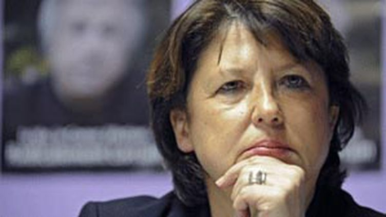 Martine Aubry première secrétaire du PS (© AFP)