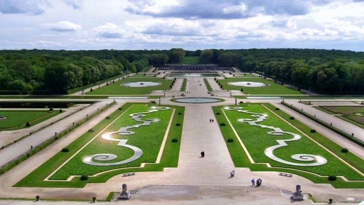 L'oeuvre monumentale de Patrick Hourcade dans les jardins du château de Vaux-le-Vicomte (Château de Vaux-le-Vicomte)
