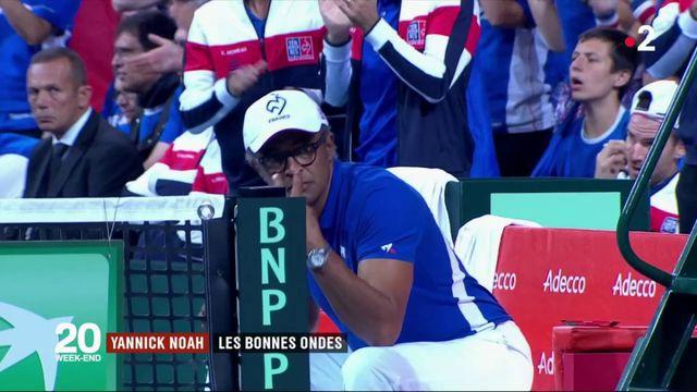Coupe Davis : les bonnes ondes de Yannick Noah