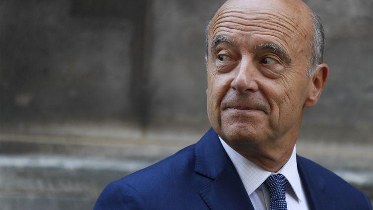 Alain Juppé, maire de Bordeaux, à Paris, le 7 septembre 2016. (THOMAS SAMSON / AFP)