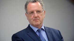 Richard Ferrand lors d'un meeting à Telgruc-sur-Mer (Finistère), le 2 juin 2017. (FRED TANNEAU / AFP)