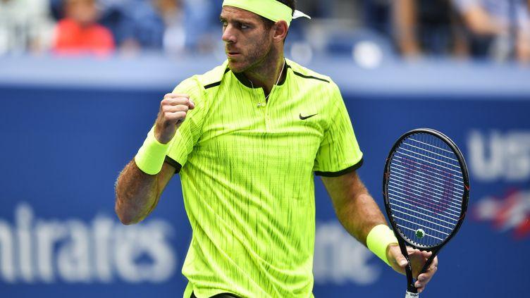 Juan Martin del Potro qualifié pour les quarts de finale de l'US Open 2016.