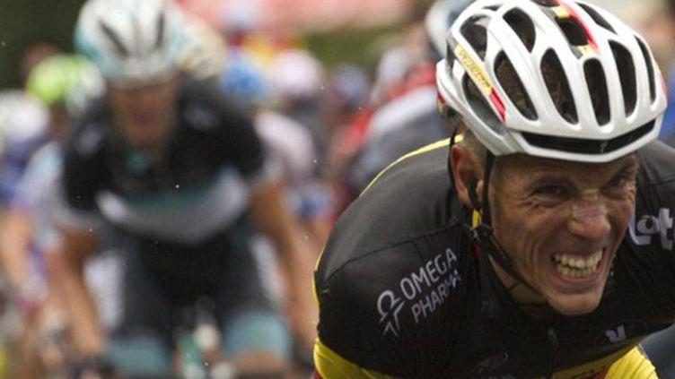 Le Belge Philippe Gilbert (Omega Pharma-Lotto)