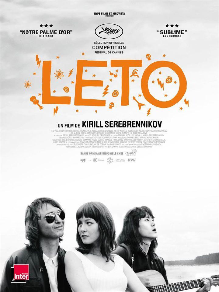 """Leto"" : l'affiche  ( Kinovista / Bac Films)"