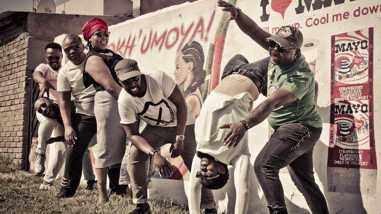 Le groupe venu de Soweto, BCUC  (Jeanne Abrahams)