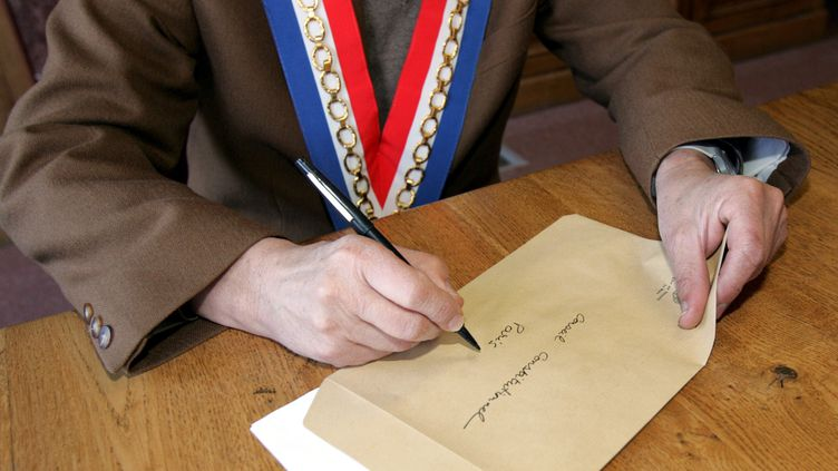 Les élus habilités à parrainer un candidat à l'élection présidentielle ont jusqu'au 17 mars 2017 pour envoyer leur signature au Conseil constitutionnel. (MAXPPP)
