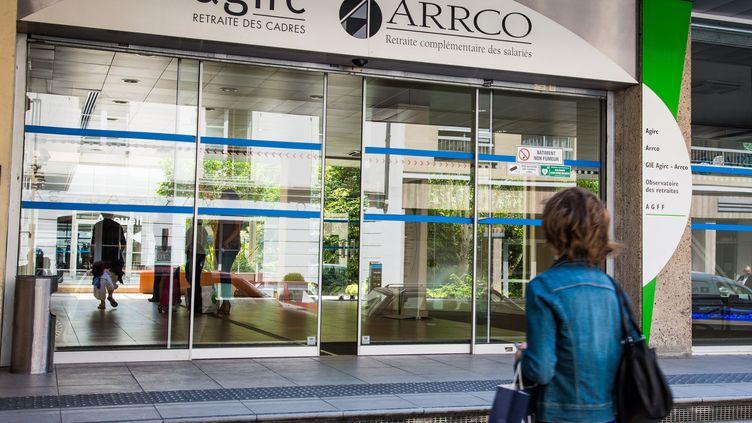 """Ce nouveau système, issu la fusion de l'Agirc et de l'Arcco, devrait pouvoir ajuster de manière """"quasi-automatique"""" un des facteurs de calcul de la pension. (GARO / PHANIE / AFP)"""