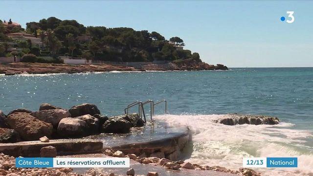 Vacances : les réservations affluent sur la côte bleue