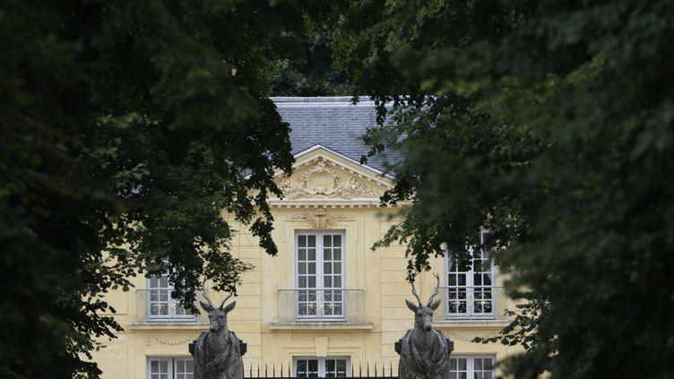 La Lanterne, résidence officielle du président de la République à Versailles. (KENZO TRIBOUILLARD / AFP)