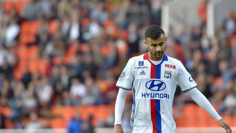 Rachid Ghezzal, ici sous le maillot de l'OL (LOIC VENANCE / AFP)